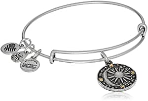 Alex and Ani Cosmic Balance II Bangle Bracelet, Rafaelian Silver, Expandable