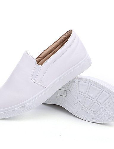 uk4 Zapatos 7 black gyht eu36 Exterior Nappa de Tacón Blanco us6 cn36 Negro Bajo Casual Oficina mujer 5 Trabajo uk4 us6 ZQ y us6 Leather cn37 5 5 uk4 black Mocasines Comfort cn36 black eu37 eu36 54pAqwA