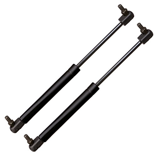 Qty(2) BOXI Rear Trunk Lift Supports for Mitsubishi Eclipse 2001-2005 Convertible 2 Door Trunk With Out Spoiler 4133, SG414055 ()