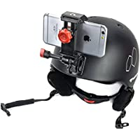 Snowboarding Camera Mount for Helmet and All Samsung & Iphones