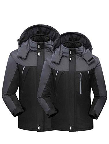 nbsp; Incappucciato Cappotto Manica Camping Unisex Funzionale Giacca Addensare Outdoor Schwarz Outwear Invernali Grazioso Joggers Impermeabile Caldo Lunga Donna Stlie Casuale Moda g1x4aqwB