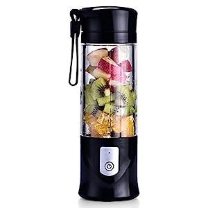 USB Electric Safety Juicer Cup, Fruit Juice mixer, Mini Portable Rechargeable /Juicing Mixing Crush Ice Blender Mixer…