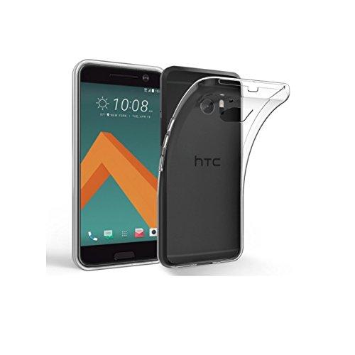 HANDYHÜLLE Schutzhülle Silikon Case Schutz Cover Transparent Clear von ZhinkArts für HTC One Mini 2