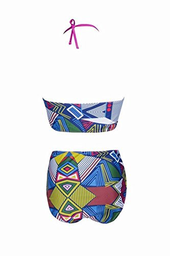 XL Costume Fat a weiwei Plus alta bagno Spring vita da Beach stampato WEI Hot blu Bikini g0xxwqPYSU