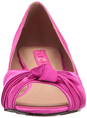Pink Pink Satin H H Pleaser Pump Label Slide Hpsa Pink Women's Satin Fab422 gTRgHBP