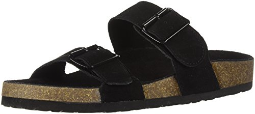 Coconut COOLWAY COOLWAY WoMen Black Sandal WoMen wqxTF0xY