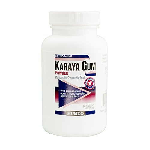 Powder Gum Karaya (Humco 140194001 Karaya Gum Powder, NF, 4 oz.)