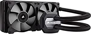 Corsair CW-9060025-WW Hydro Series H100i V2 240 mm Extreme Performance All-in-One Liquid CPU Cooler - Black