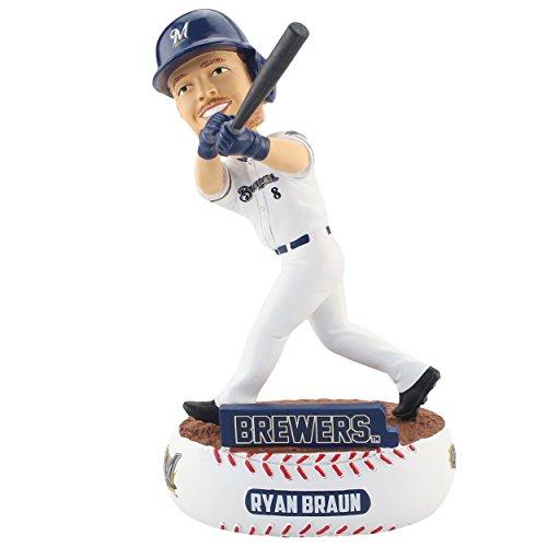 Braun Brewers Milwaukee Ryan (Ryan Braun Milwaukee Brewers Baller Special Edition Bobblehead MLB)