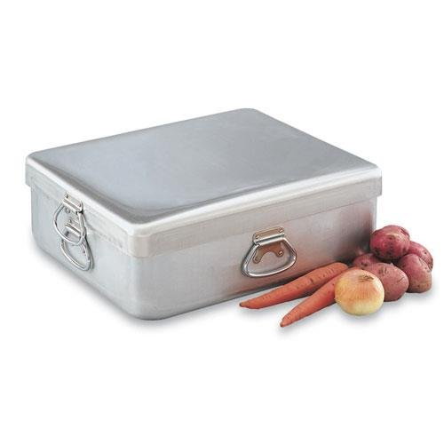 Vollrath 68390 Wear-Ever 42 Qt Roast Pan Set, 21-5/8 x 18-1/8 x 9 In, Heavy Duty Aluminum