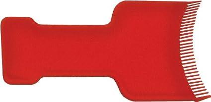 Fripac-Medis - Peine para aplicar mechas, color rojo
