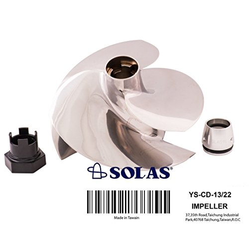Solas Yamaha Concord Impeller - Yamaha Solas Impeller FZR / FZS / FX SHO / FX Cruiser SHO 2008 2009 2010 2011 - 2016