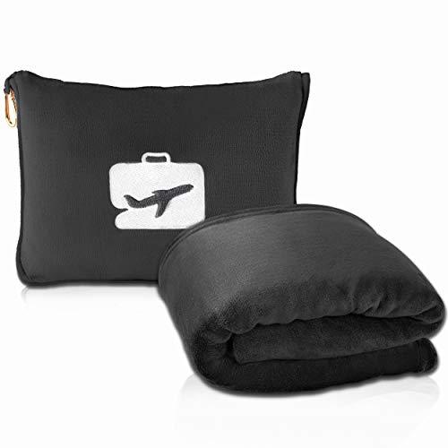 EverSnug Premium Soft Travel Blanket and Pillow