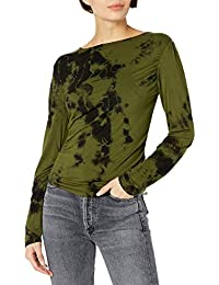 Women's Marbled Ruched Top - Amazon Exclusive