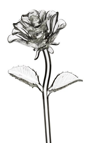 Waterford Fleurology Glass Flower, Rose