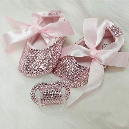 Pink Rhinestone Baby Toddler First