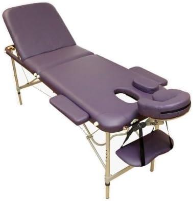 Table De Massage Violette N3p Pliante Portable 3 Zones Plans En
