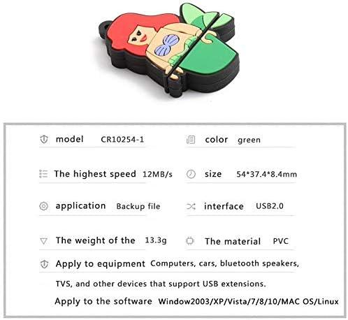 Hopter Mermaid USB Drive OTG 8GB USB Flash Drive USB 2.0 Micro USB Pen Drive Memory Stick