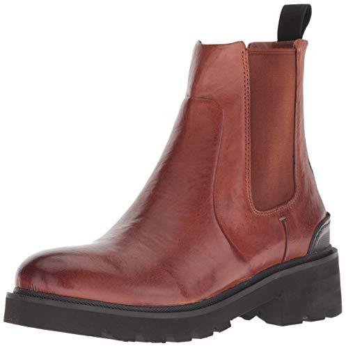 FRYE Women's Allison Chelsea Boot, Cognac, 9 M US