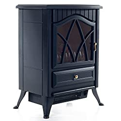 Even Glow 80-15801 Classic Freestanding Electric Fireplace from Even Glow