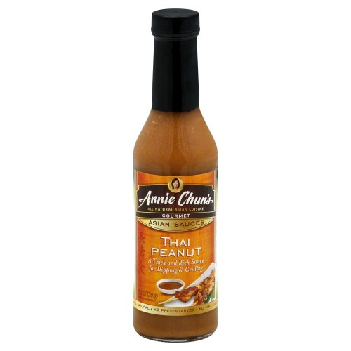 Annie Chun's Thai Peanut Sauce 9.17 OZ (Pack of 2)