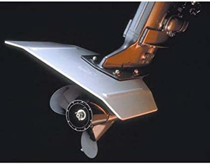 Whale Tail XL Hydrofoil Stabilizer Improves Performance of Outboard /& I//O Motor