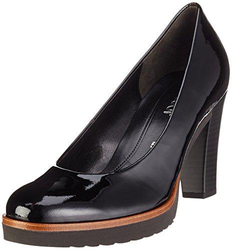 Gabor Shoes Fashion, Zapatos de Tacón para Mujer Negro (Schwarz Ra.Cuoio)