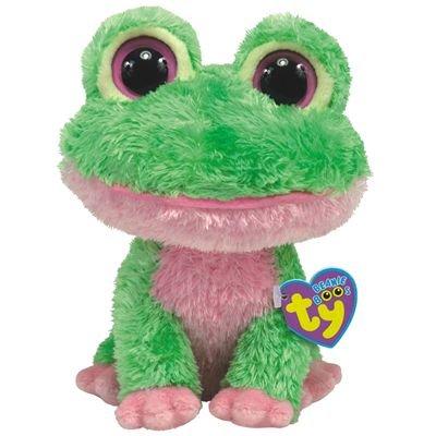Amazon.com  TY Beanie Boos - Kiwi - Frog  Toys   Games 647ddd93729