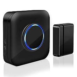 Wireless Door Sensor Chime BITIWEND Alar...