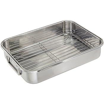 ExcelSteel 591 Roasting Pan, Stainless