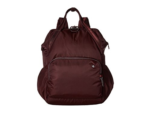 Calfskin Document - Pacsafe Unisex Citysafe CX Anti-Theft 17L Backpack Merlot One Size