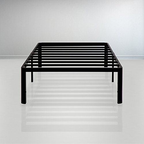 Olee Sleep 14 Inch Dura Metal Steel Slate Bed Frame - T2000 Twin XL 14BF08X by Olee Sleep