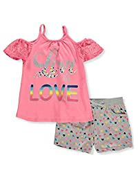 Real Love Girls' 2-Piece Shorts Set Outfit