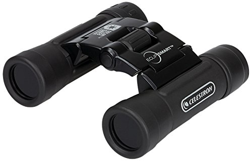 Celestron EclipSmart 2017 North American Total Solar Eclipse Binocular, Black, 10x25 - Solar For Viewing Eclipse Glasses