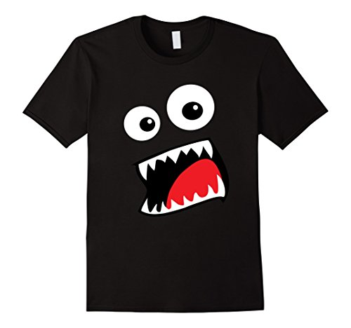 Mens Monster Halloween Costume Shirt Easy Funny for Kids Adults Medium Black - 2 Minute Costume Ideas