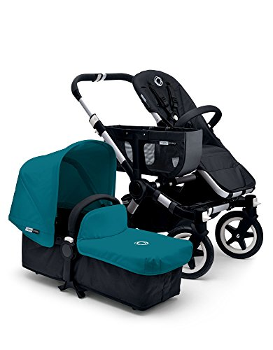 Bugaboo Donkey Tailored Fabric Set, Petrol Blue
