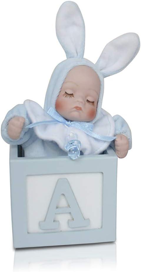 CAJITAS MUSICALES PARA BEBE, Regalo detalle, bautizo, regalo detalle recién nacido, musical bebe, música para bebes (AZUL)