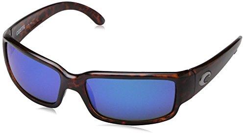 Costa Del Mar Caballito Sunglasses, Tortoise, Blue Mirror 580G - Mar Costa Del Color Lense