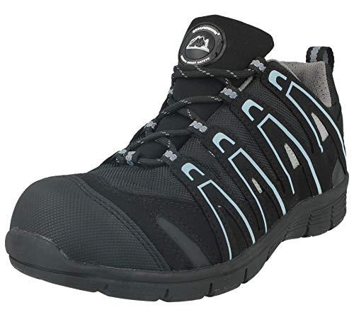 Groundwork de mujer puntera Grey80 Black Zapatillas a 36 acero seguridad 41 de GR95 con talla de tIwap