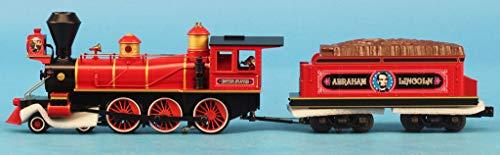 MTH 1:48 O Scale 4-6-0 Abraham Lincoln Steam Engine Proto-Sound 3.0#30-1591-1