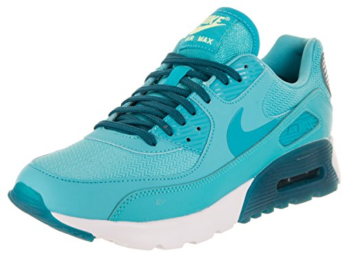 Nike Damen W Air Max 90 Ultra Essential Gymnastik, Rot, Talla Blu (Gamma Blue / Gmm Blue-grn Abyss)