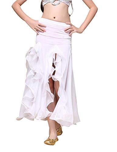 Ouverture Poisson Girl Blanc Bestgift Jupe Queue Haut en de qSWgXUw