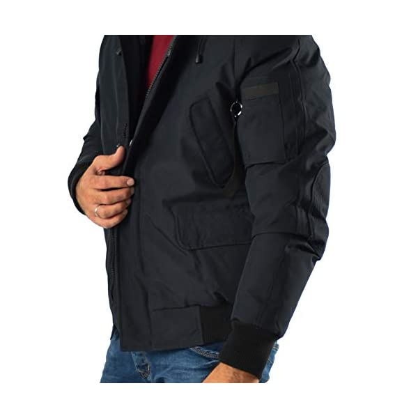 Paragoose Aria Doudoune manteau Hiver Courte homme