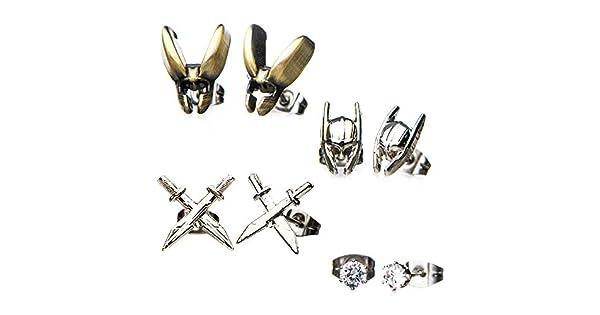 Amazon.com: Thor Loki Juego arete: Toys & Games
