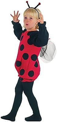 Theme Fancy Dress Disfraz infantil de Mariquita. 3 años: Amazon.es ...