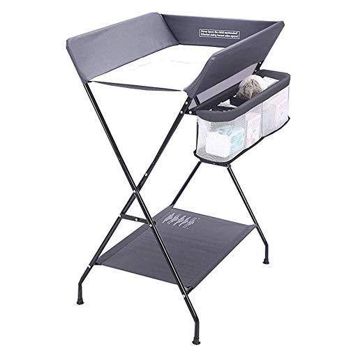 Amazon.com: Mesa cambiadora plegable para bebé, mesa de baño ...