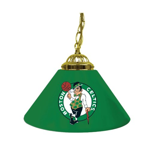 NBA Boston Celtics Single Shade Gameroom Lamp, 14'' by Trademark Gameroom