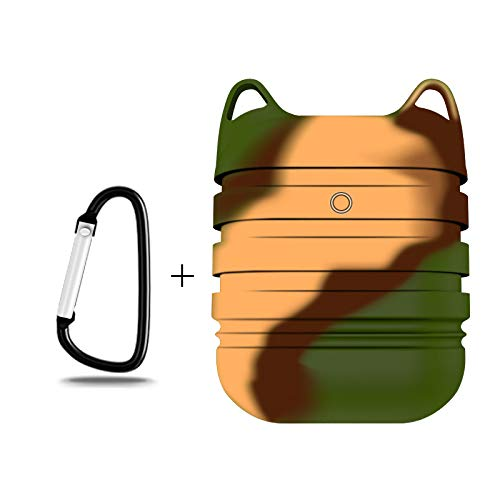 AWINNER AirPods Case,Premium Quality Waterproof Shock Resistant Case for AirPods (Camouflage)