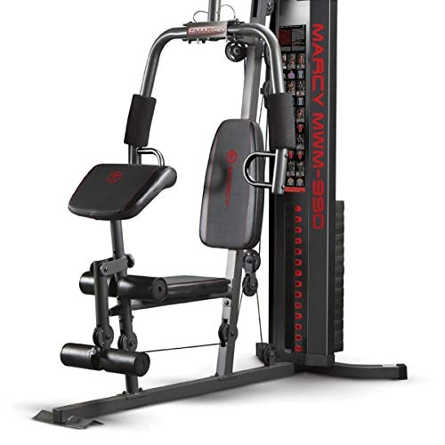 Marcy 150-lb Multifunctional Home Gym Station for Total Body Training MWM-990 by Marcy (Image #2)