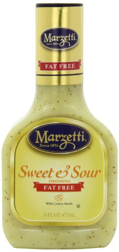 (Marzetti Dressings Fat Free, Sweet and Sour, 16 Ounce (Pack of 6))